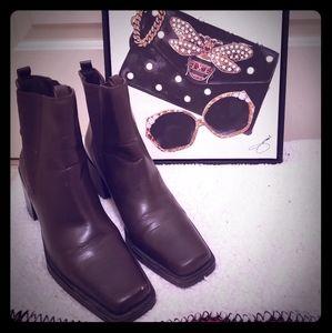 MIA Leather Boots